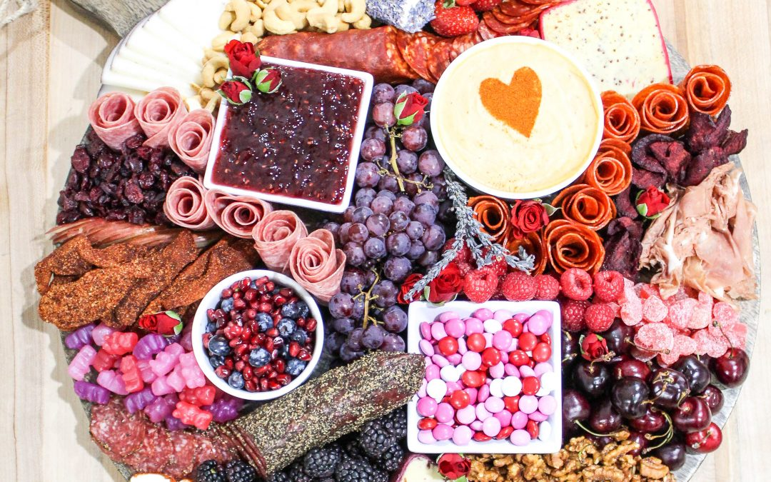 Share the Love with a Valentine's Day Charcuterie Board